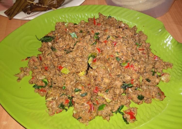 Cara memasak Sambal Oncom kemangi endeeus. yang bikin ketagihan