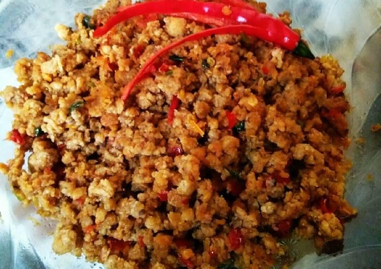 Cara Mudah memasak Sambal oncom lezat