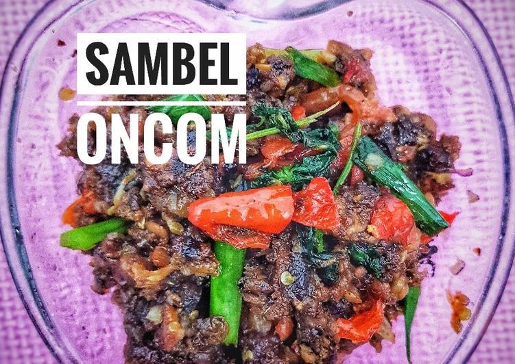 Resep: Sambel oncom (kering) yang bikin ketagihan
