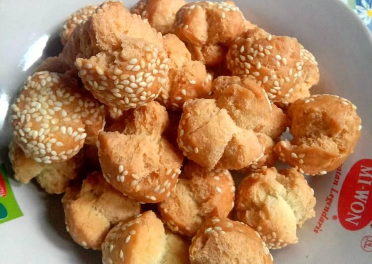 Resep: Roti ketawa / kue ketawa lezat
