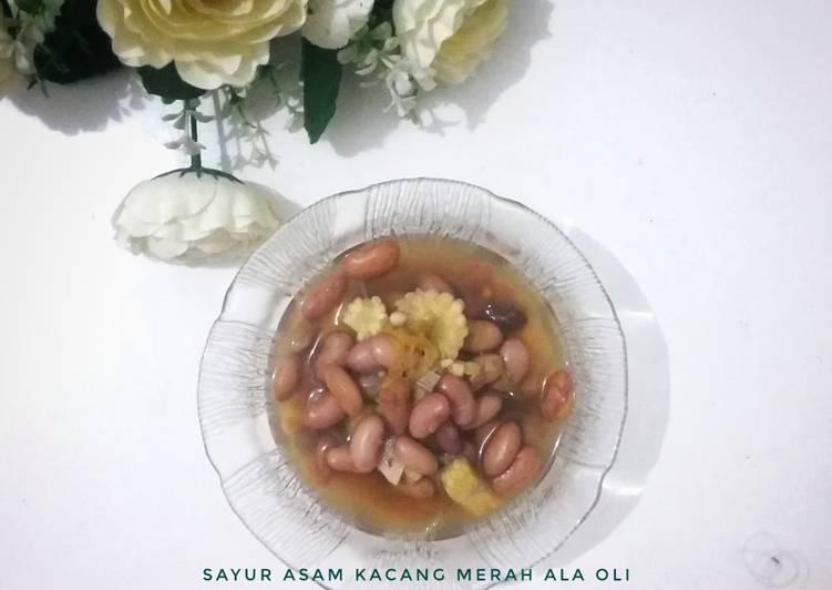 Resep memasak Sayur Asam Kacang Merah yang bikin ketagihan