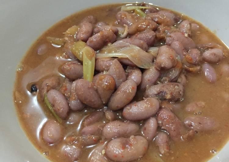 Cara Mudah mengolah Sayur asam kacang merah enak
