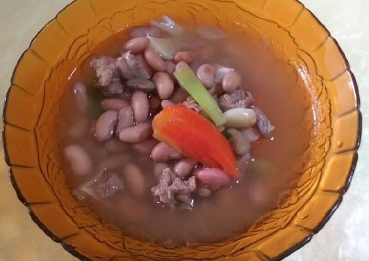 Resep mengolah Sayur asem kacang merah sundanese sedap