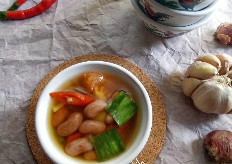 Resep: Sayur asem kacang merah yang bikin ketagihan