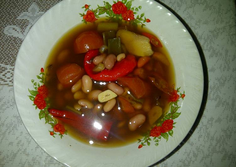 Cara Mudah mengolah Sayur asem kacang merah yang bikin ketagihan