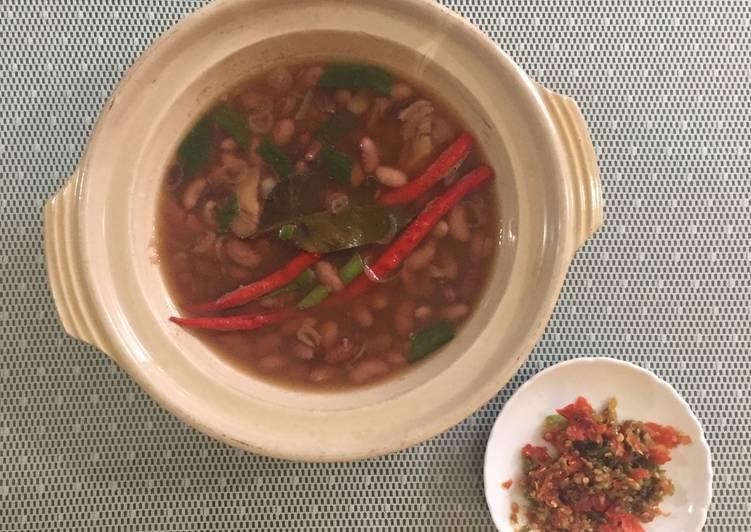 Cara Mudah mengolah Sayur asem kacang merah enak
