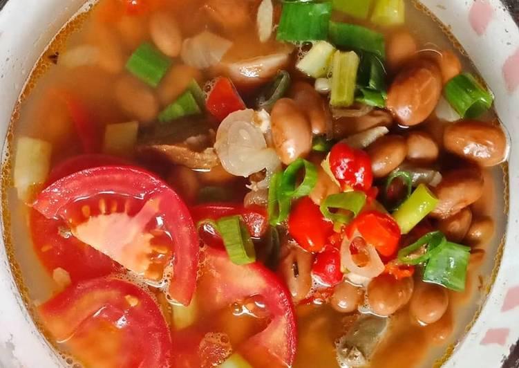 Cara Mudah memasak Sayur Asam Kacang Merah Nan Pedas yang bikin ketagihan