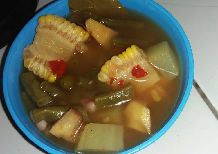Resep memasak Sayur Asem ala resto