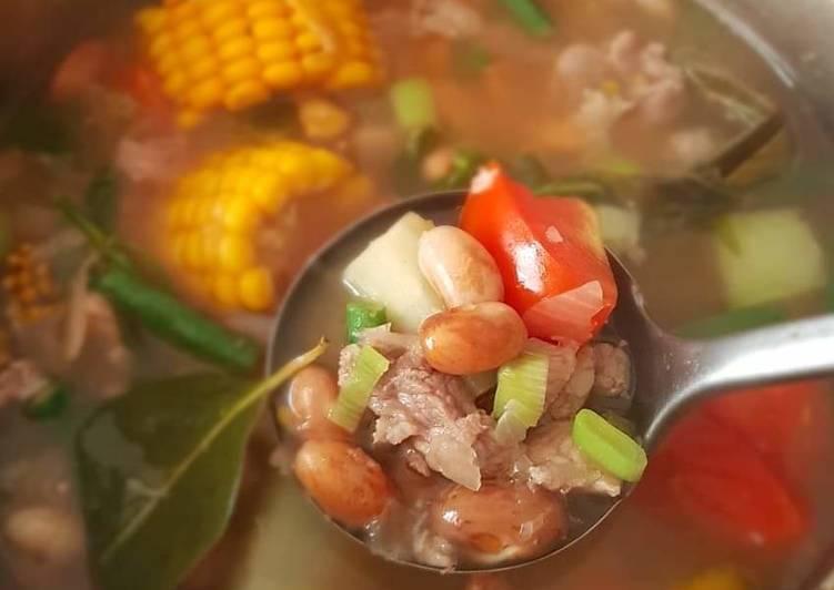 Resep: Sayur asem daging resep mertua sedap
