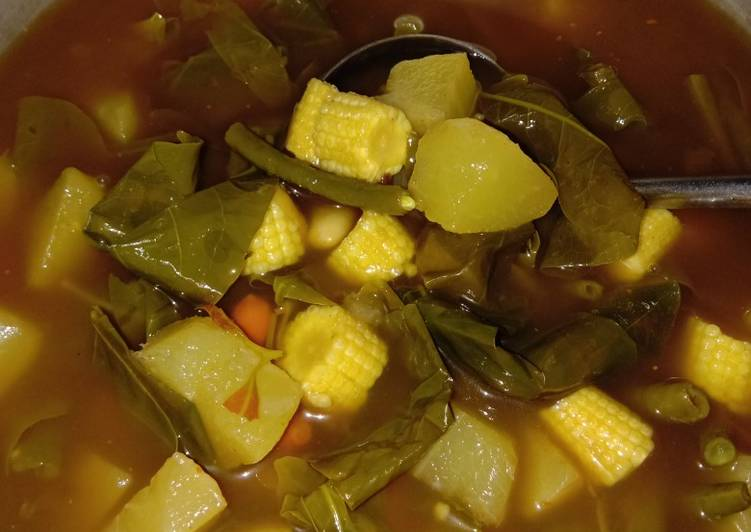 Cara memasak Sayur asem ala sunda ala resto