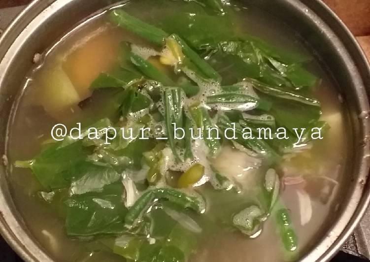 Resep: Sayur asem simpel tanpa lengkuas ala resto