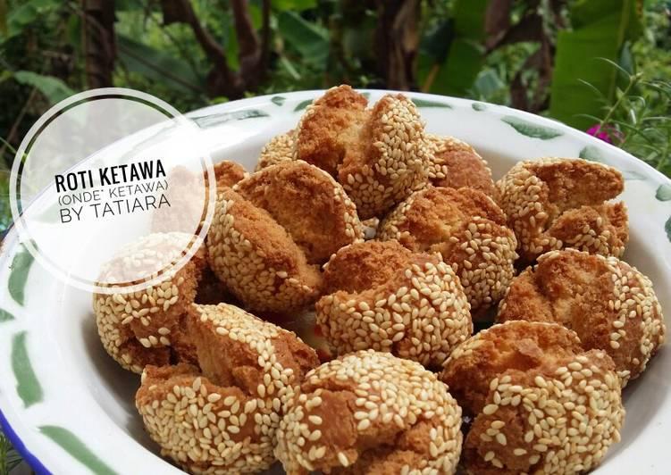 Resep memasak Roti ketawa (onde2 ketawa renyah) ala resto