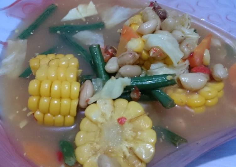 Resep: Sayur asem 'super' simple enak