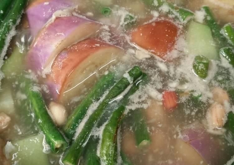 Resep membuat Sayur asem desa