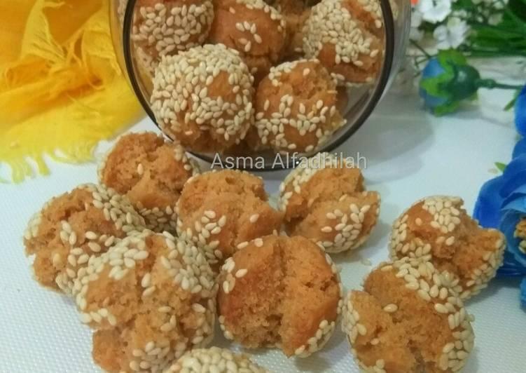 Roti ketawa mini (onde² ketawa mini)