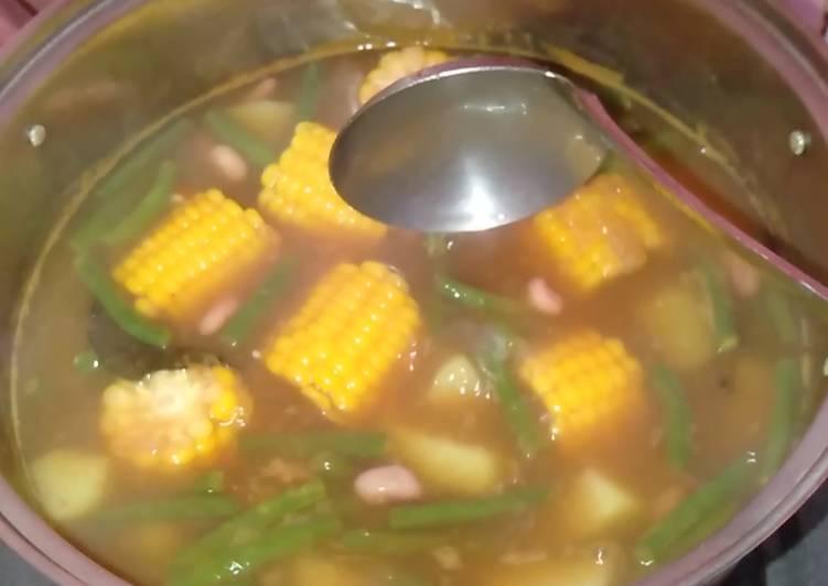 Resep mengolah Sayur asem sedap