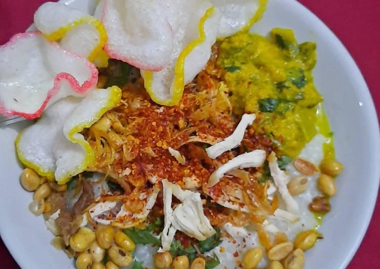 Resep memasak Bubur ayam cianjur yang bikin ketagihan