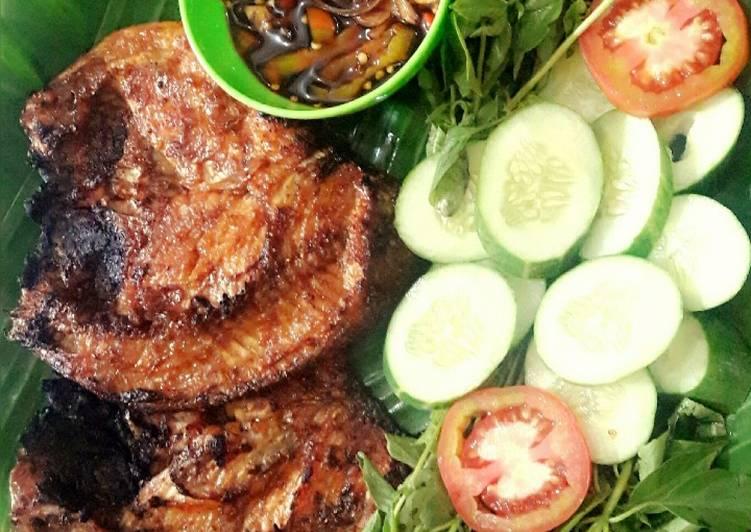 Resep: Ikan bakar cianjur yang menggugah selera