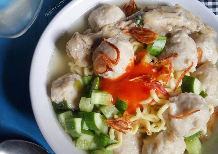 Mie Bakso Ayam | Soteng Khas Tasikmalaya