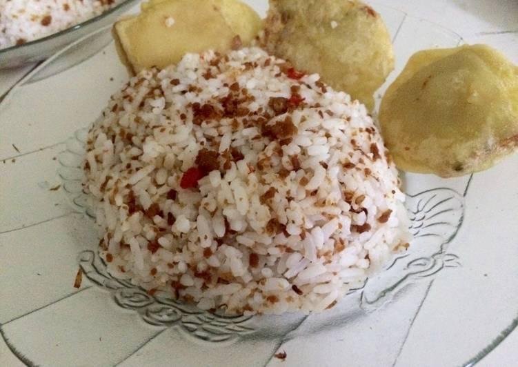 Resep: Nasi Tutug Oncom Khas Tasik yang menggugah selera