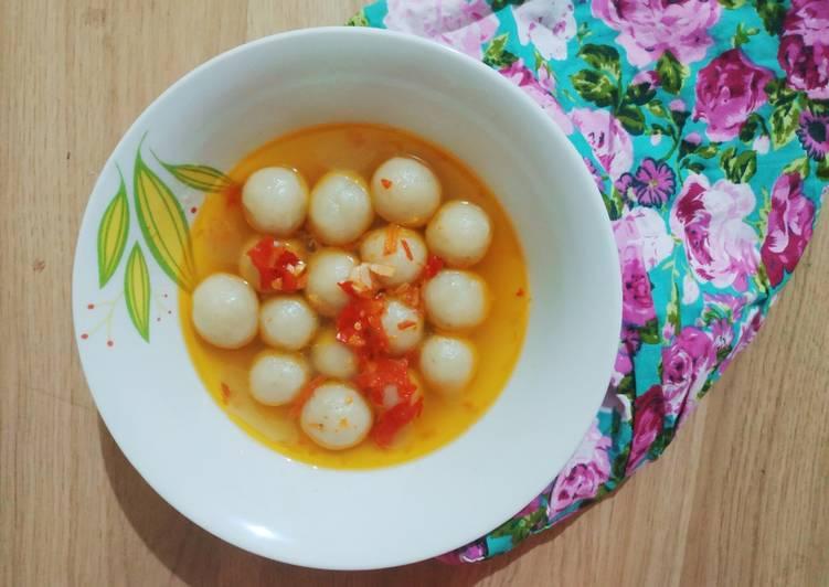 Cilok Goang Kuah Pedas