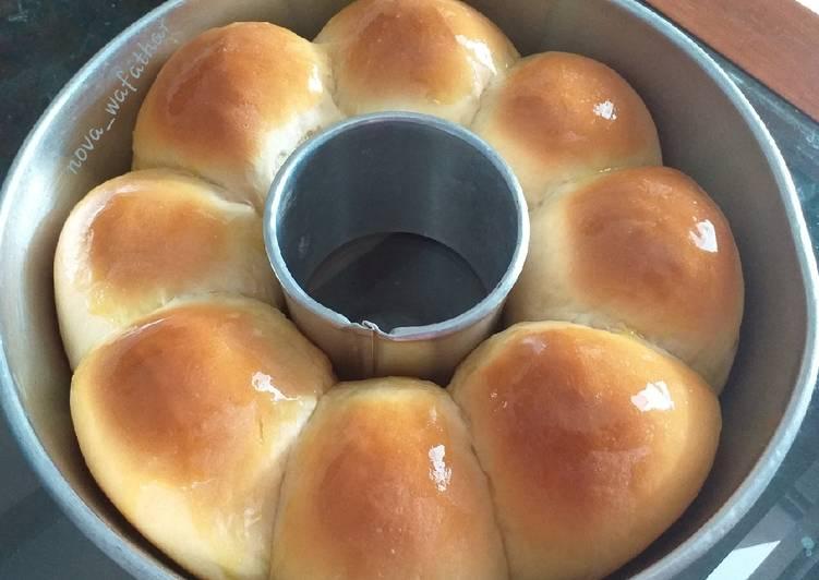 Resep: Roti sobek kosong empuk lembut lezat