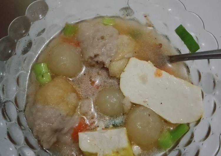 Resep membuat Cilok goang simpel lezat
