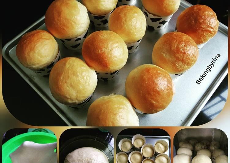 Cara Mudah mengolah Roti kosong empuk dan lembut lezat