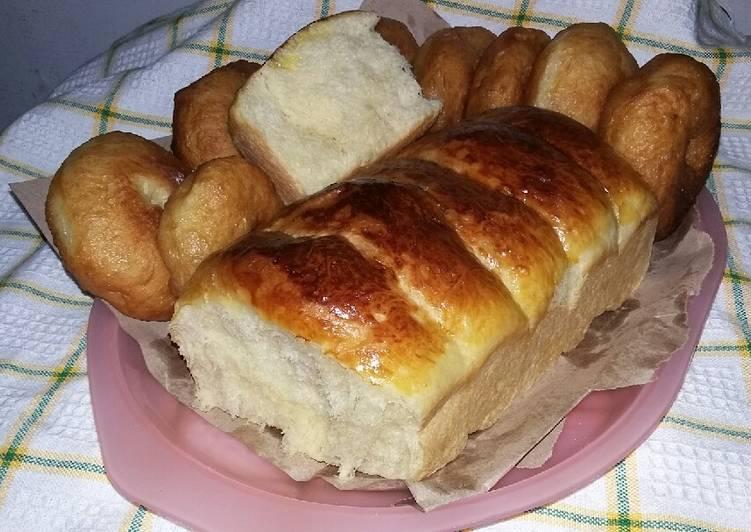Resep: Roti kosong *tanpa isi* tanpa mikser sedap