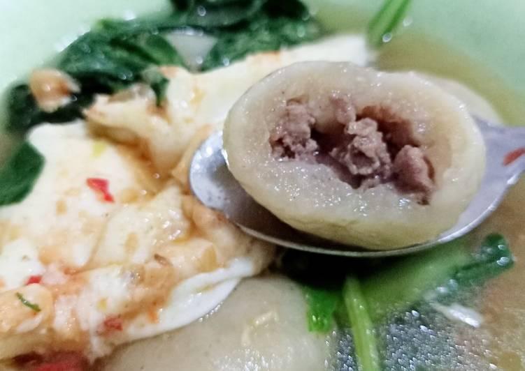 Resep mengolah Cilok Daging Kuah (Cilok Goang) ala resto