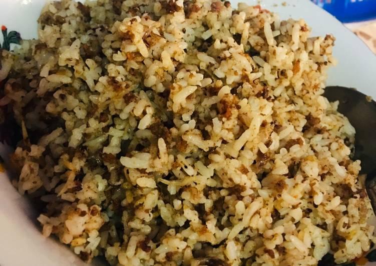 Resep: Nasi Tutug Oncom ala resto