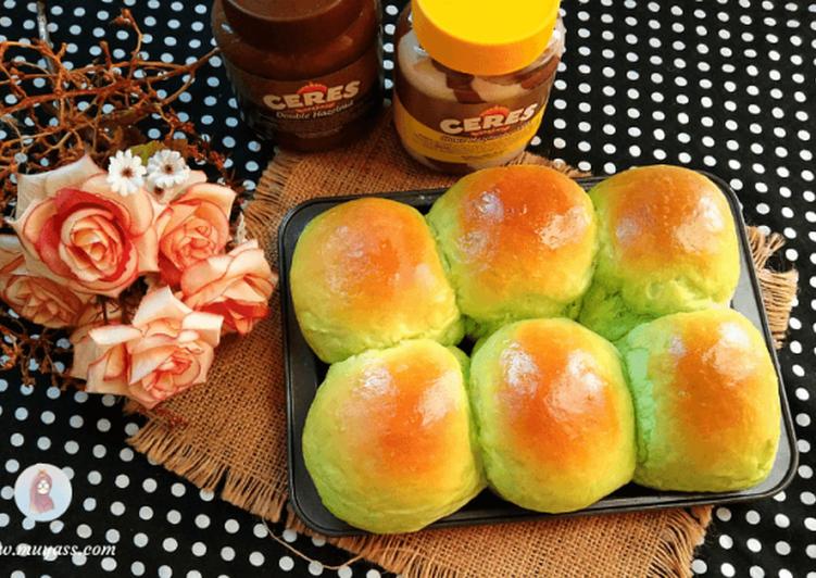 Cara Mudah mengolah Roti Sobek Pandan Isi Cokelat yang menggugah selera