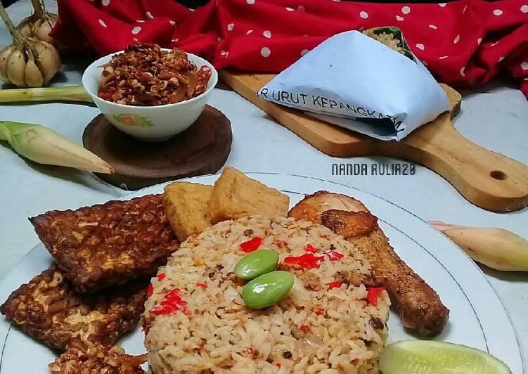 Cara membuat Nasi tutug oncom enak