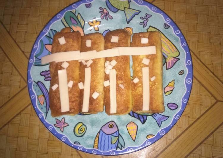 Roti gulung kornet keju