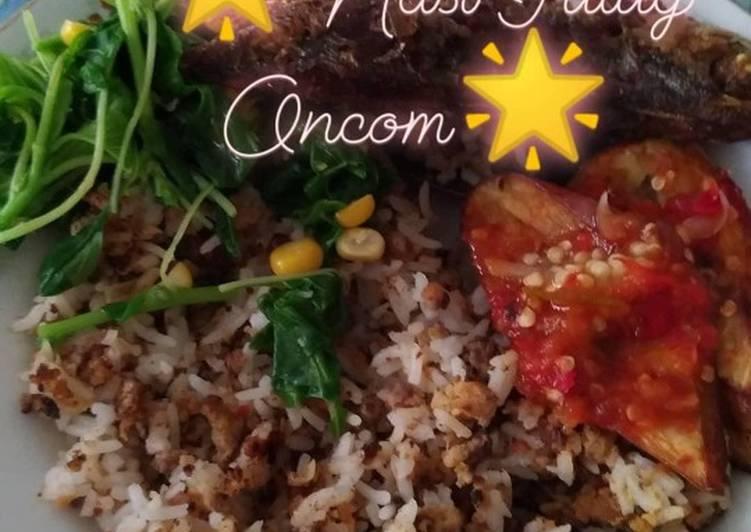 Cara membuat Nasi Tutug Oncom yang menggugah selera
