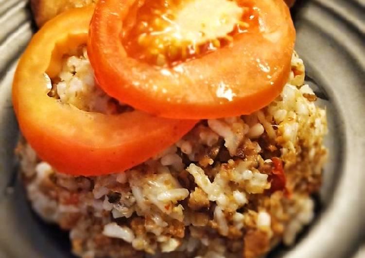 Cara Mudah memasak Nasi tutug oncom