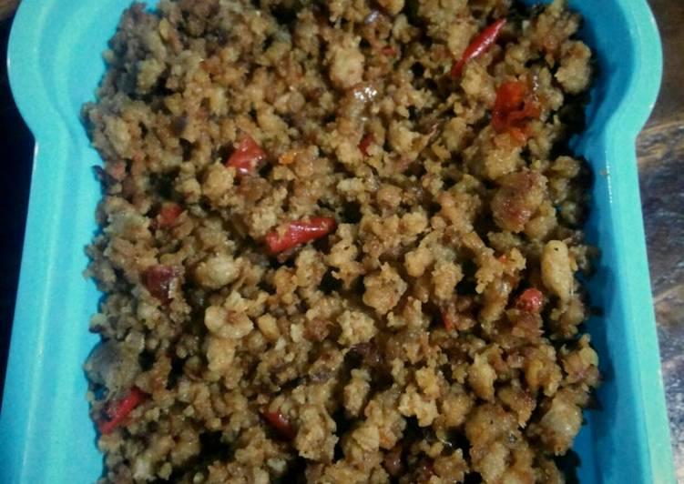 Resep membuat Oncom untuk taburan serabi atau nasi tutug oncom sedap