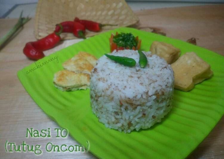 Cara memasak Nasi TO (Tutug Oncom) #Pekan_Sunda yang menggugah selera