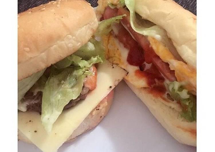Cara Mudah mengolah Burger&Hotdog simple yang menggoyang lidah