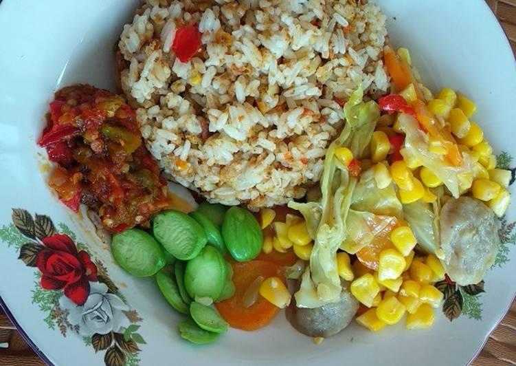 Cara mengolah Nasi tutug oncom yang menggugah selera