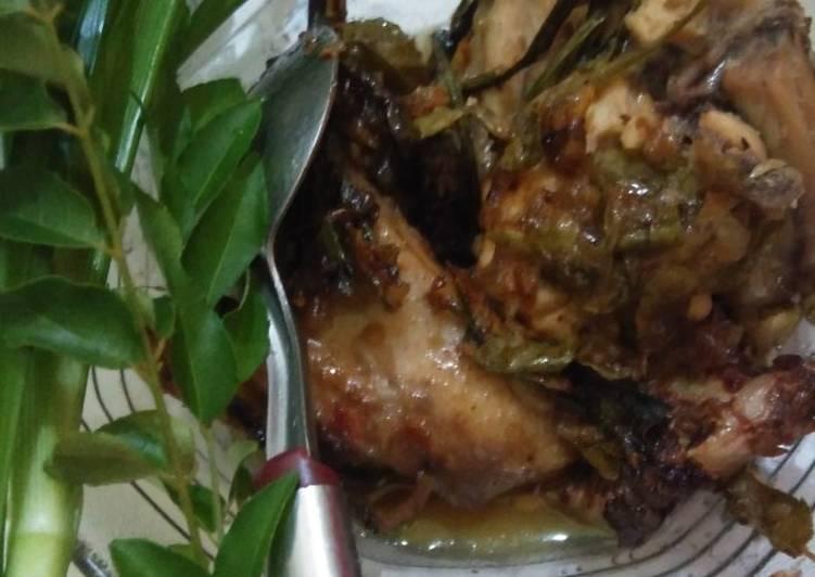 Cara Mudah memasak Ayam tangkap#kampuangNanJauhDimato sedap