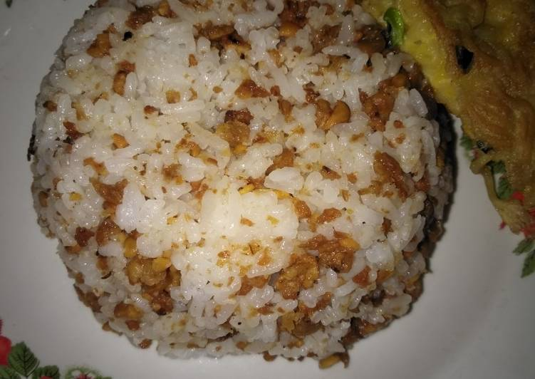 Cara Mudah memasak Nasi TO (tutug oncom) lezat