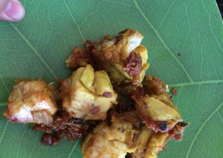 Resep: Ayam goreng khas ala majalengka ala resto