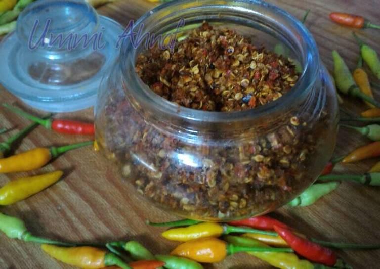 Resep: Kelud (sambal kering khas majalengka) yang bikin ketagihan