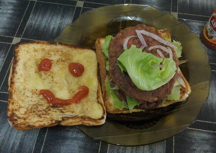 Resep: Burger sederhana ala resto