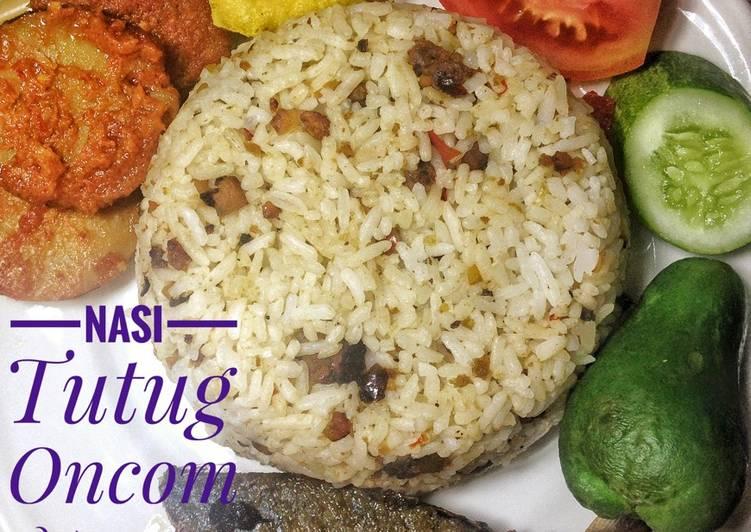 Cara membuat Nasi Tutug Oncom lezat