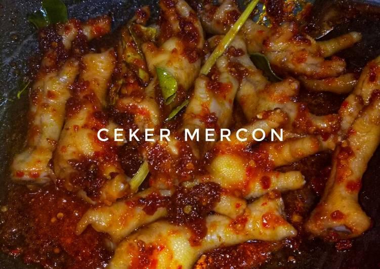 Resep: Ceker Mercon ala resto