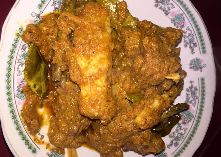 Saksang Ayam Kampung Pedas💕