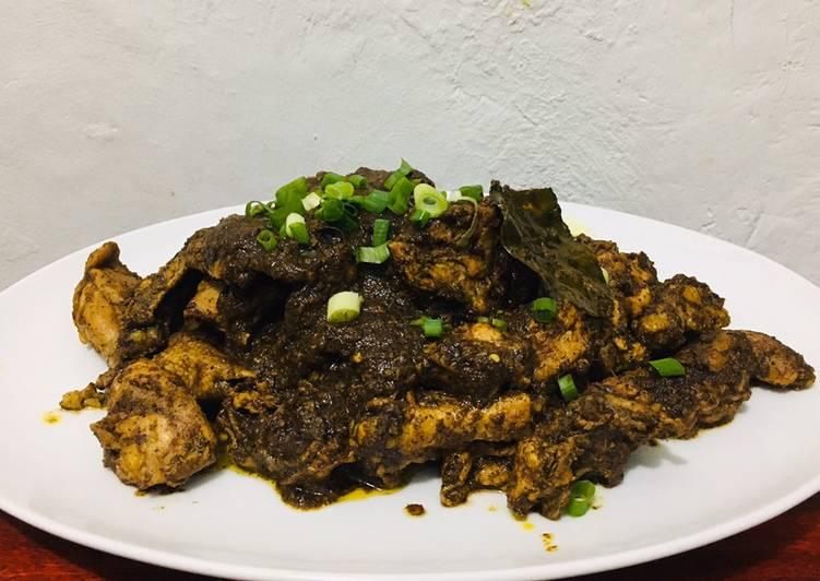 Resep: Saksang Ayam Ala Chef Turnip yang menggugah selera