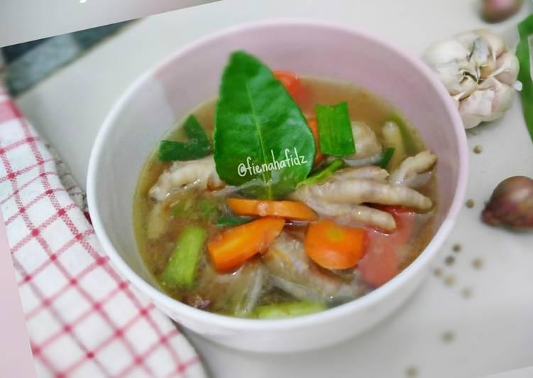 Resep: Sup Ceker empuk